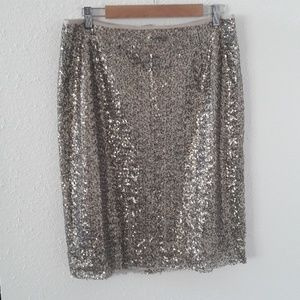 Sequined Chicos mini skirt